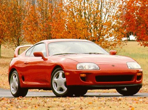 Highest Horsepower Hatchbacks of 1996 - 1996 Toyota Supra
