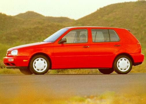 Most Fuel Efficient Hatchbacks of 1996 - 1996 Volkswagen Golf