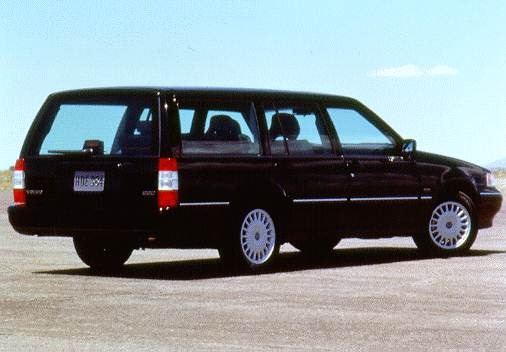Highest Horsepower Wagons of 1996 - 1996 Volvo 960