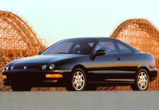 Most Popular Hatchbacks of 1997 - 1997 Acura Integra