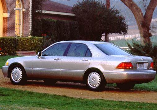 Top Consumer Rated Luxury Vehicles of 1997 - 1997 Acura RL