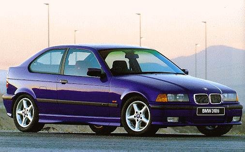 Most Popular Hatchbacks of 1997 - 1997 BMW 3 Series
