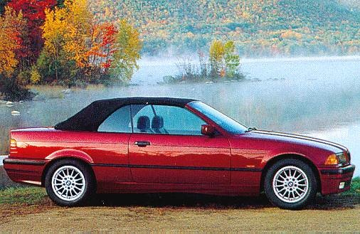 Most Fuel Efficient Convertibles of 1997 - 1997 BMW 3 Series