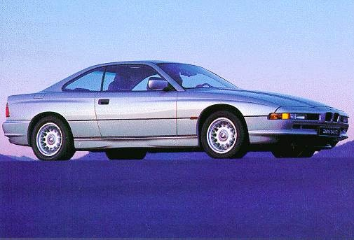 Top Consumer Rated Luxury Vehicles of 1997 - 1997 BMW 8 Series