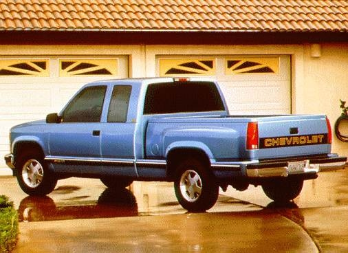 Highest Horsepower Trucks of 1997 - 1997 Chevrolet 1500 Extended Cab