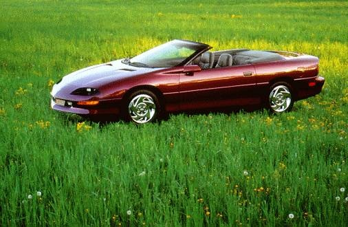 Most Popular Convertibles of 1997 - 1997 Chevrolet Camaro