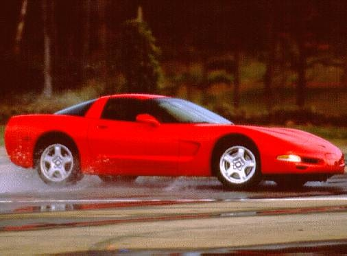 Most Popular Hatchbacks of 1997 - 1997 Chevrolet Corvette