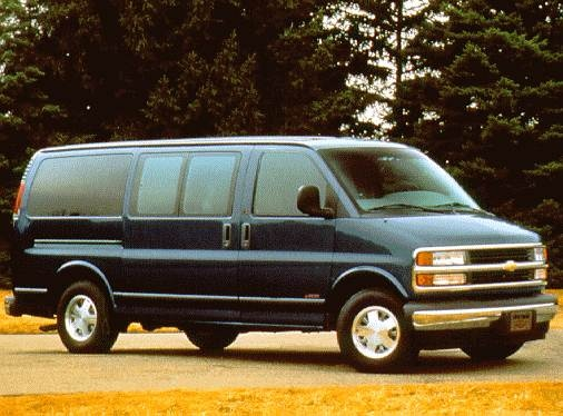 Highest Horsepower Van/Minivans of 1997 - 1997 Chevrolet Express 2500 Passenger