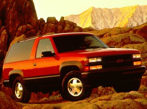 Highest Horsepower SUVS of 1997 - 1997 Chevrolet Tahoe