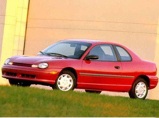 Most Fuel Efficient Coupes of 1997 - 1997 Dodge Neon
