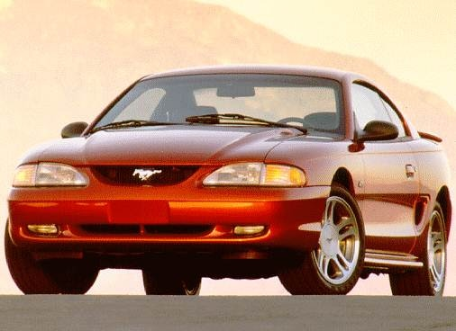 Most Popular Coupes of 1997 - 1997 Ford Mustang