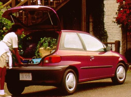 Most Fuel Efficient Coupes of 1997 - 1997 Geo Metro