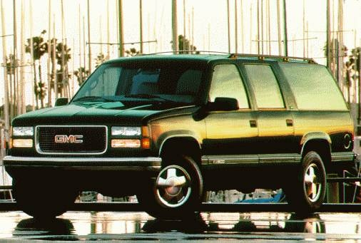 Highest Horsepower SUVS of 1997 - 1997 GMC Suburban 2500