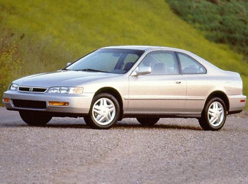 Most Popular Coupes of 1997 - 1997 Honda Accord