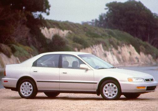 Most Popular Sedans of 1997 - 1997 Honda Accord