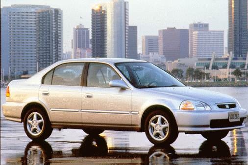 Most Popular Sedans of 1997 - 1997 Honda Civic