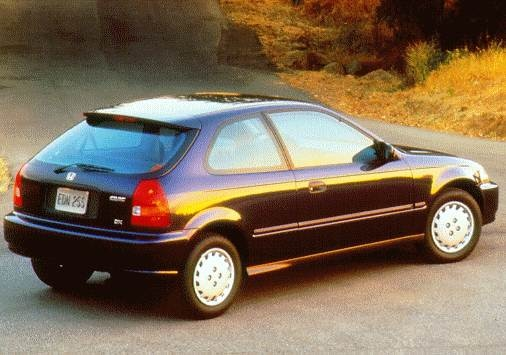 Most Popular Hatchbacks of 1997 - 1997 Honda Civic