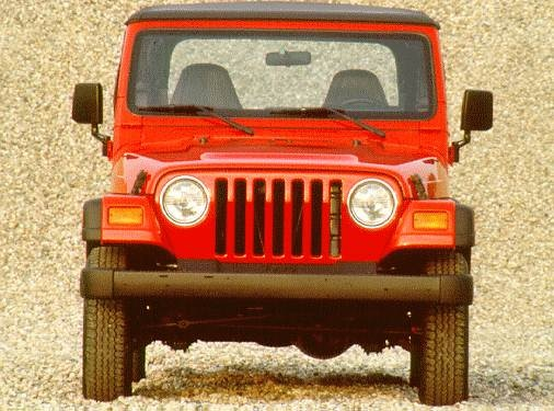 Most Fuel Efficient SUVS of 1997 - 1997 Jeep Wrangler