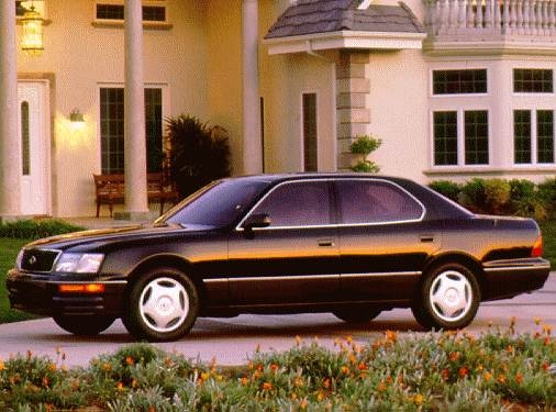 Top Consumer Rated Luxury Vehicles of 1997 - 1997 Lexus LS