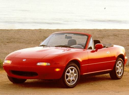 Most Fuel Efficient Convertibles of 1997 - 1997 MAZDA MX-5 Miata