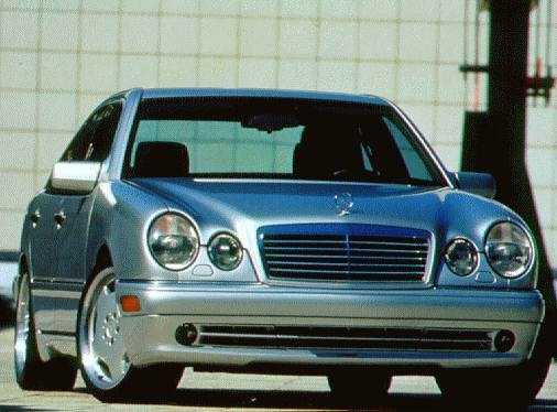 Highest Horsepower Sedans of 1997 - 1997 Mercedes-Benz E-Class