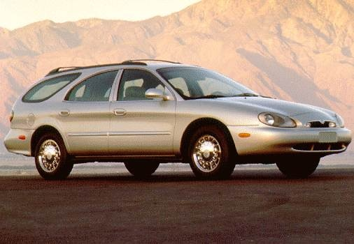 Highest Horsepower Wagons of 1997 - 1997 Mercury Sable