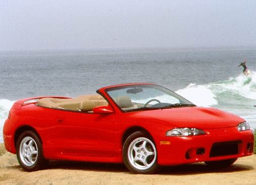 Highest Horsepower Convertibles of 1997 - 1997 Mitsubishi Eclipse