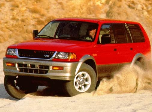 Most Fuel Efficient SUVS of 1997 - 1997 Mitsubishi Montero Sport