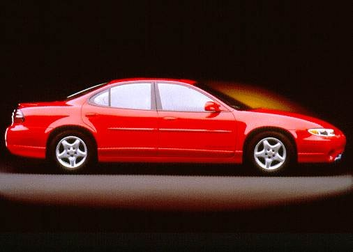 Most Popular Sedans of 1997 - 1997 Pontiac Grand Prix