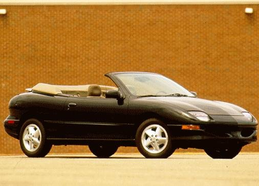 Most Fuel Efficient Convertibles of 1997 - 1997 Pontiac Sunfire