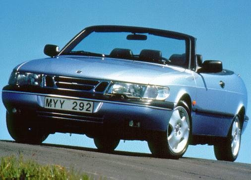 Most Fuel Efficient Convertibles of 1997 - 1997 Saab 900