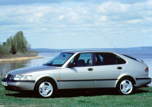Most Popular Hatchbacks of 1997 - 1997 Saab 900