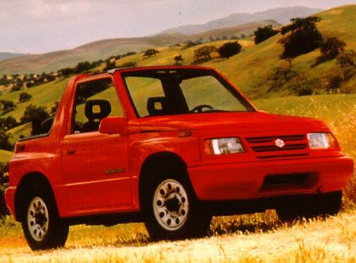Most Fuel Efficient SUVS of 1997 - 1997 Suzuki Sidekick