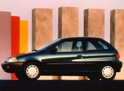Most Fuel Efficient Coupes of 1997 - 1997 Suzuki Swift