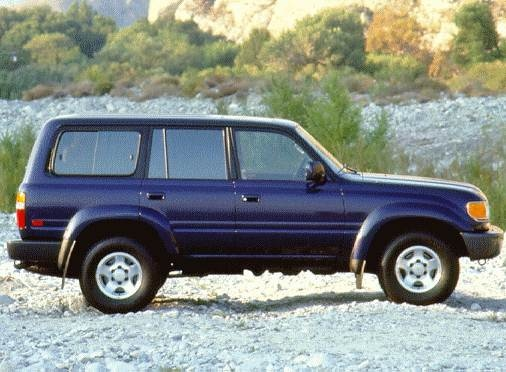 Top Consumer Rated Luxury Vehicles of 1997 - 1997 Toyota Land Cruiser