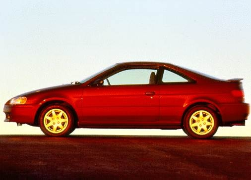 Most Fuel Efficient Coupes of 1997 - 1997 Toyota Paseo
