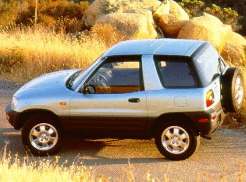 Most Fuel Efficient SUVS of 1997 - 1997 Toyota RAV4