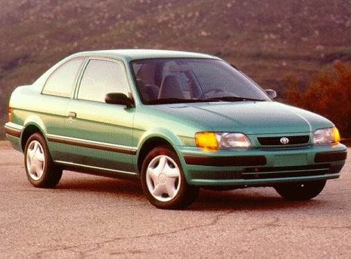 Most Fuel Efficient Coupes of 1997 - 1997 Toyota Tercel