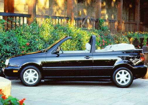 Most Fuel Efficient Convertibles of 1997 - 1997 Volkswagen Cabrio