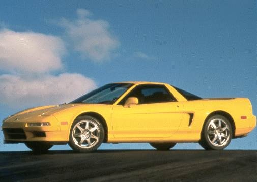 Top Consumer Rated Coupes of 1998 - 1998 Acura NSX