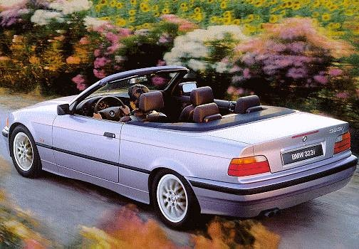 Most Fuel Efficient Convertibles of 1998 - 1998 BMW 3 Series