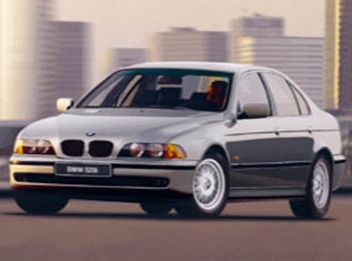 Most Popular Sedans of 1998 - 1998 BMW 5 Series