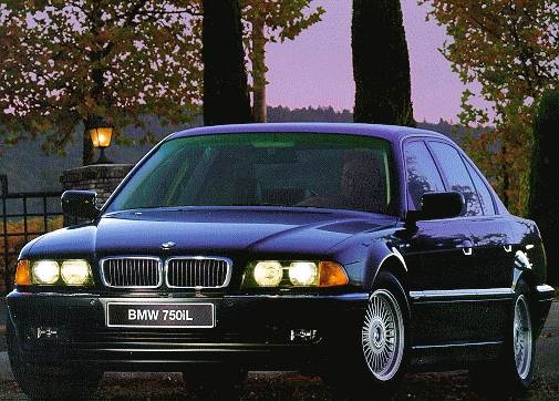 Most Popular Luxury Vehicles of 1998 - 1998 BMW 7 Series