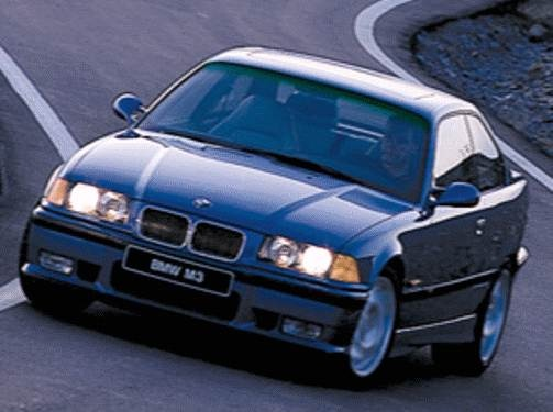 Top Consumer Rated Coupes of 1998 - 1998 BMW M3