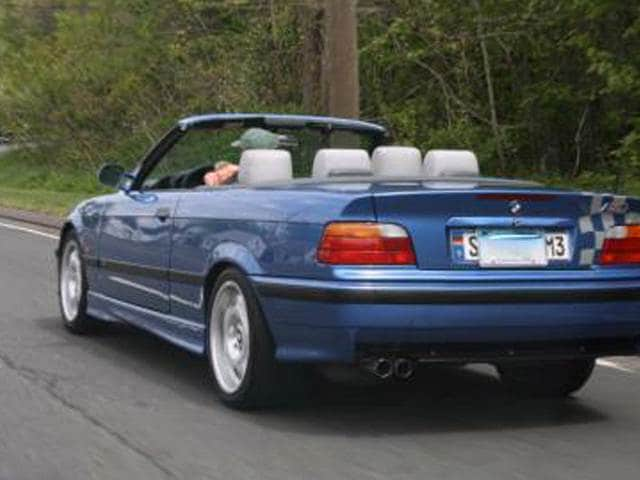 Most Fuel Efficient Convertibles of 1998 - 1998 BMW M3