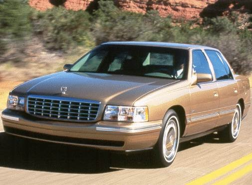 Most Popular Luxury Vehicles of 1998 - 1998 Cadillac DeVille