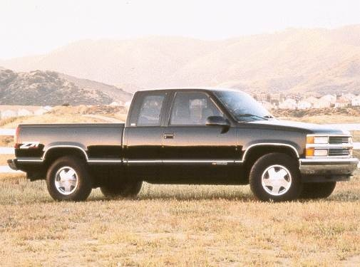 Highest Horsepower Trucks of 1998 - 1998 Chevrolet 1500 Extended Cab