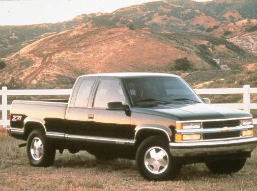 Highest Horsepower Trucks of 1998 - 1998 Chevrolet 2500 Extended Cab
