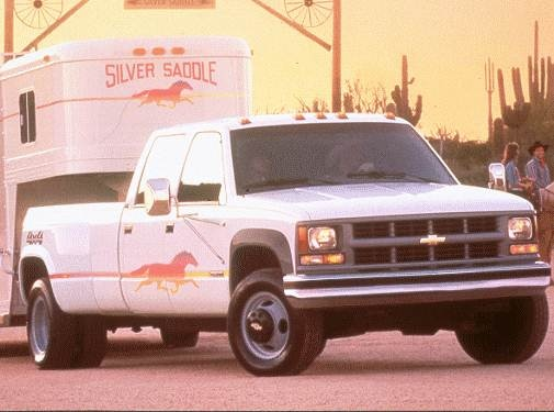 Highest Horsepower Trucks of 1998 - 1998 Chevrolet 3500 Crew Cab