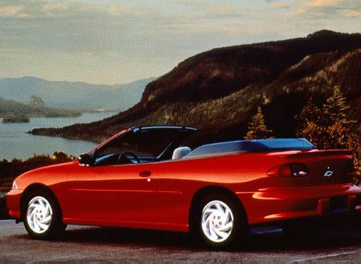 Most Popular Convertibles of 1998 - 1998 Chevrolet Cavalier